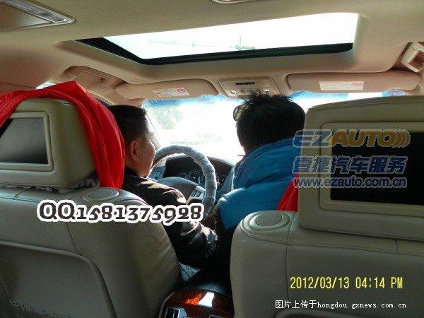 凯迪拉克sls赛威加装导航/新款凯迪拉克赛威加装倒车影像—高清图片