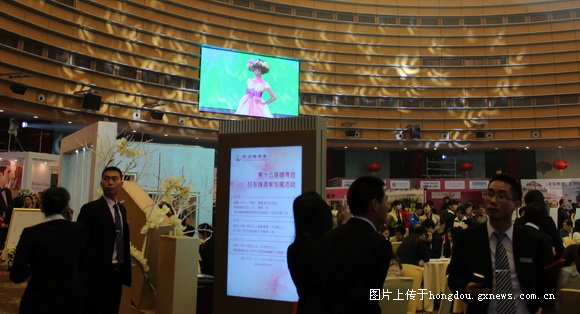第15届南宁婚庆文化博览会在会展中心举办,规模小,人少,多图