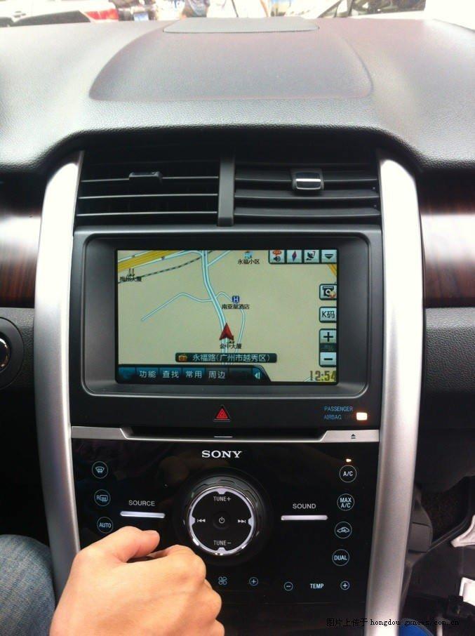 13新款福特锐界升级凯立德触摸手写导航,锐界升级手写导航 红豆社区高清图片