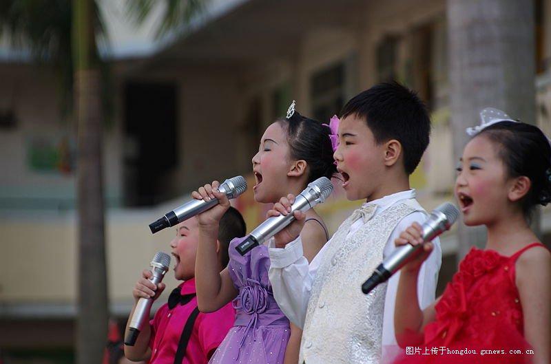 红豆小学-岑溪市第二小学六。一社区专题演听课文艺下记录图片