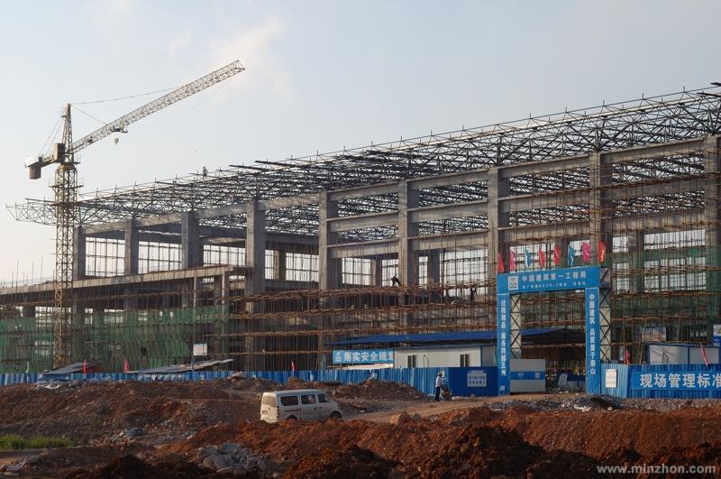7月1日的南广高铁贵港客运站图片图片