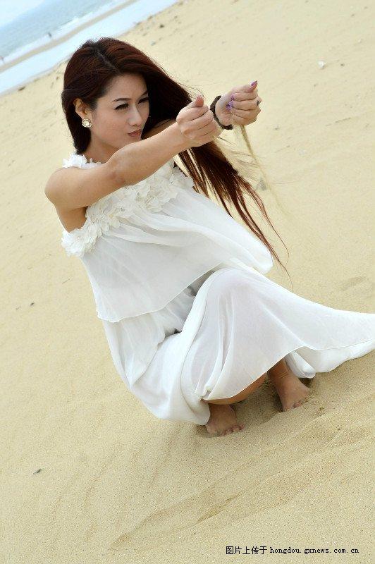 海边的女人-红豆社区