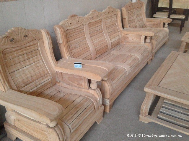 玉林北流市鹏程家具厂,便宜耐用的白坯实木家具