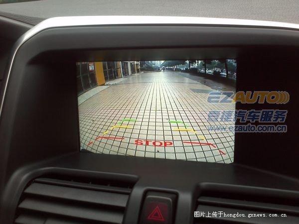 苏州南京13款沃尔沃xc60原车屏升级加装触摸屏手写导航 安高清图片