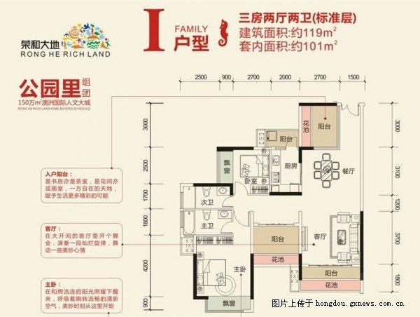 南宁荣和大地样板房征集 荣和大地119平米装修预算价格参考 高清图片