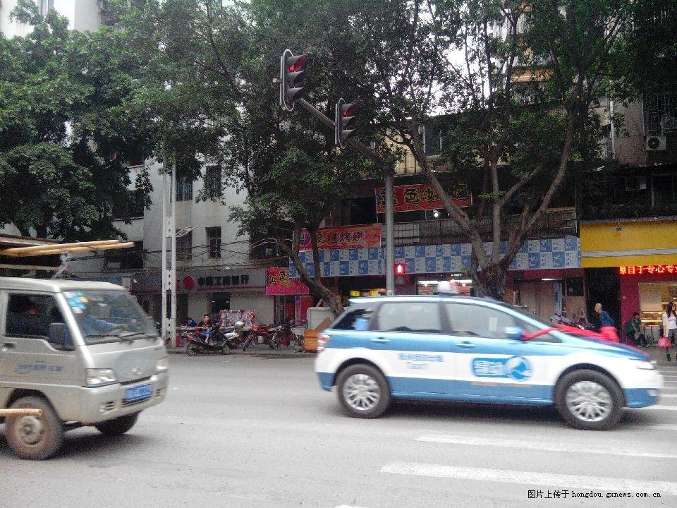 比亚迪纯电动出租车车牌高清图片