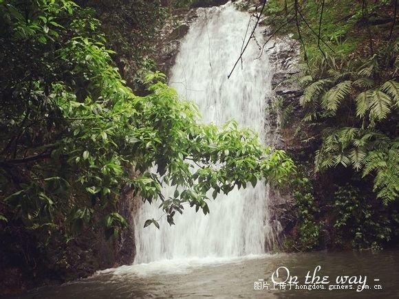 三江多了个旅游景点 天龙瀑布景区图片