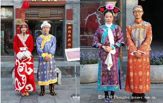 中国历代服饰文化展 亮相济南图片