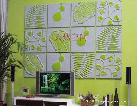 天然空间3D背景墙 时尚潮流让你的家与众不同图片