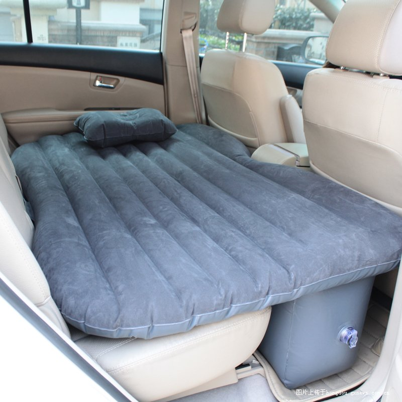 汽车后座充气床垫 适合爱好自驾游的人高清图片