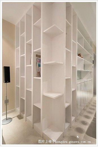 题 红日江景 88平方装修设计案例 现代简约风格 南宁装修效果图高清图片