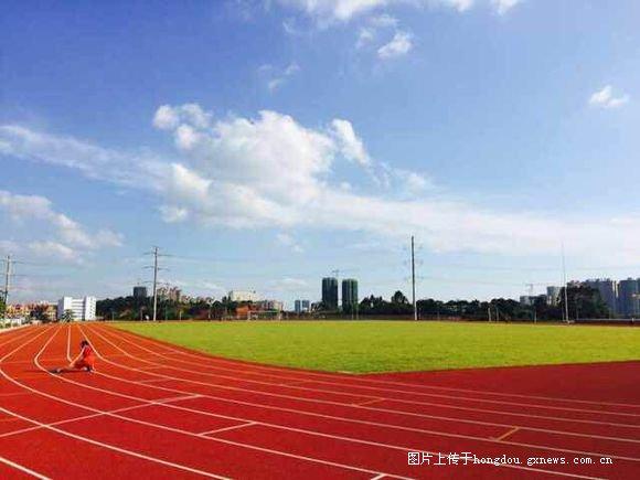 越来越漂亮的港北高中-红豆高中39中社区安阳市学校图片