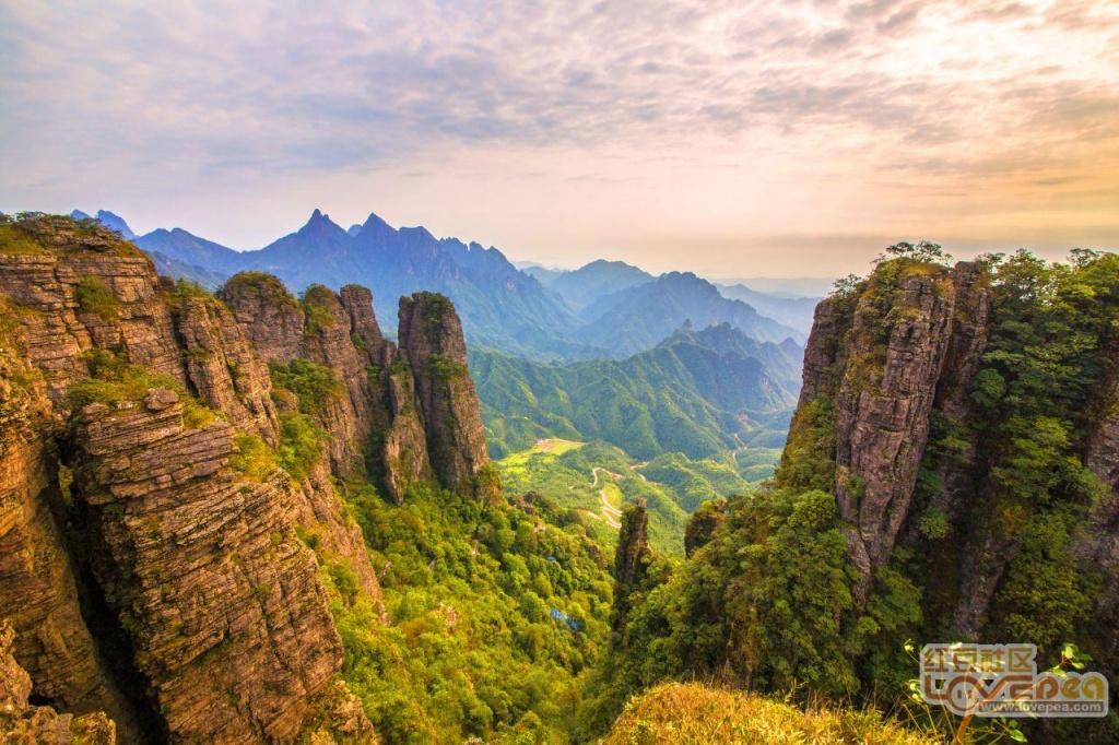 广西的张家界--平南北帝山