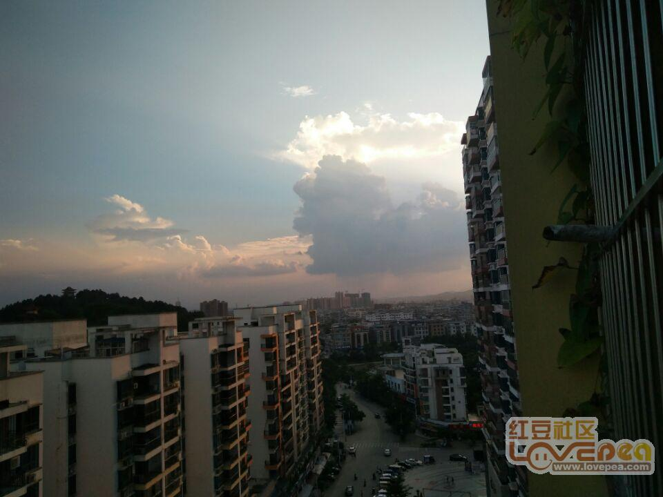灵山的天空