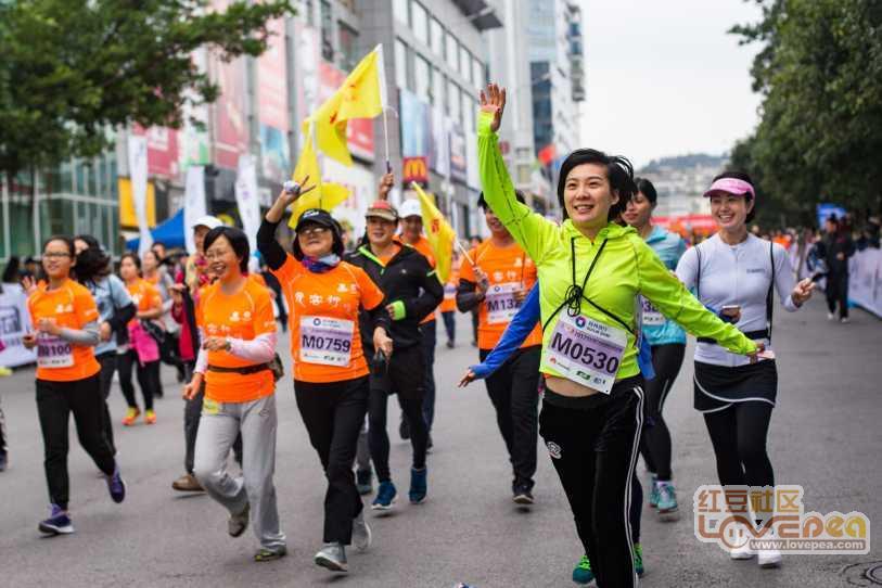 来一波桂林国际马拉松图片