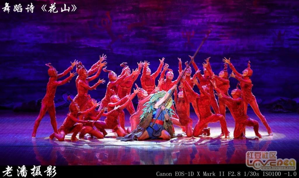 演绎壮族先人生命密码舞蹈诗《花山》