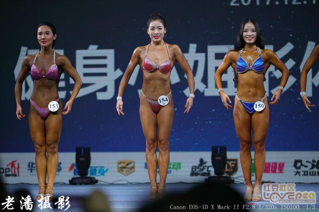 中国2017健美健身公开赛在贵港举办