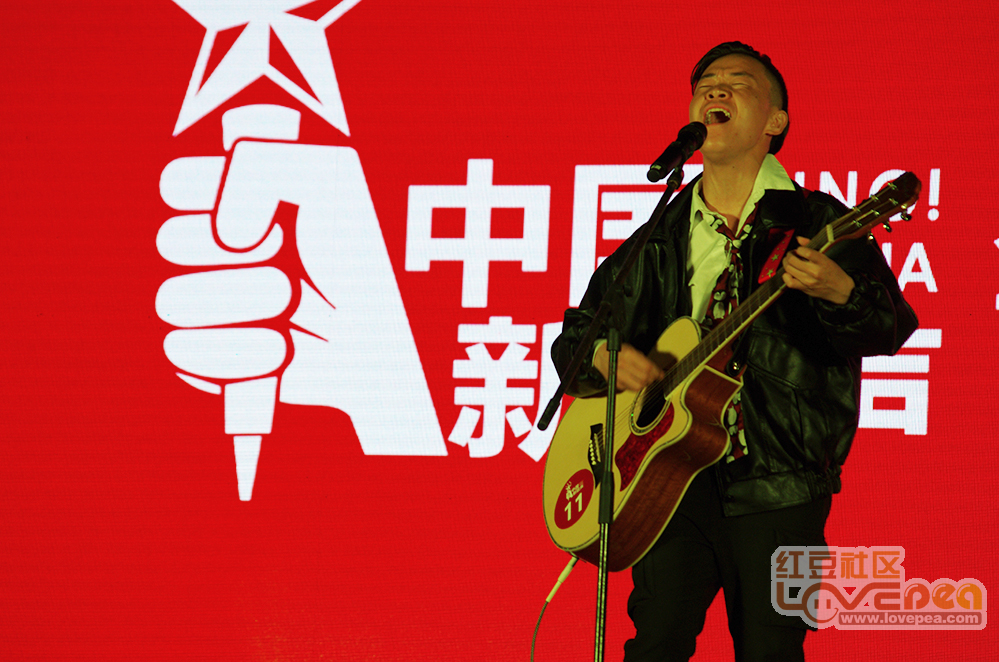 《中国新歌声》在贺州海选