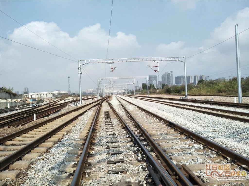 湛江即将进入高铁时代,最新西站现场实拍
