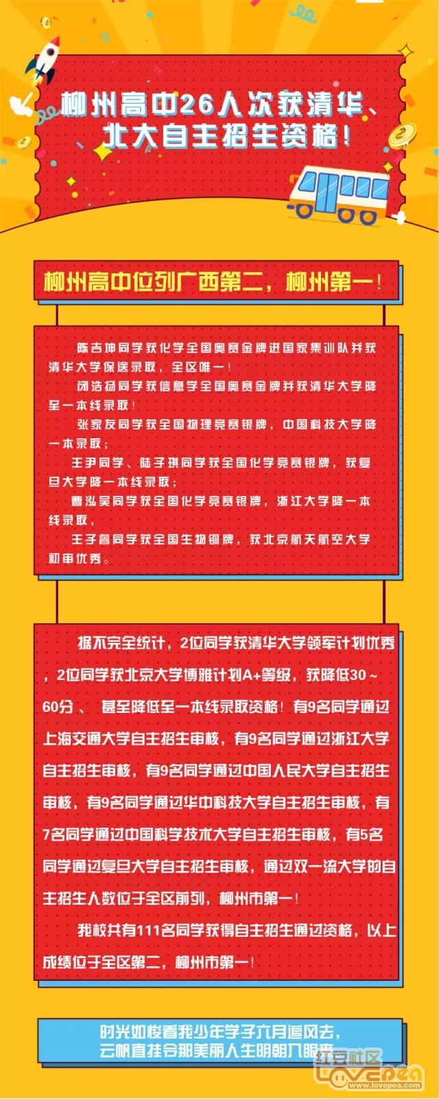 ■清华名单2018年自主招生初审高中公布柳州白石北大日山图片