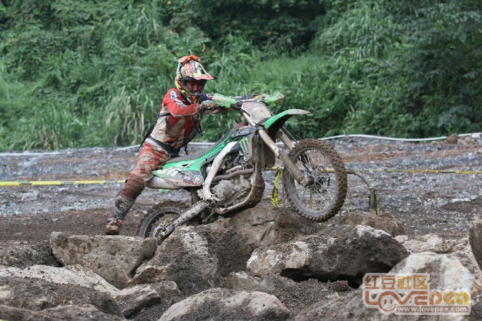 大新摩托车国际矿山耐力赛掠影