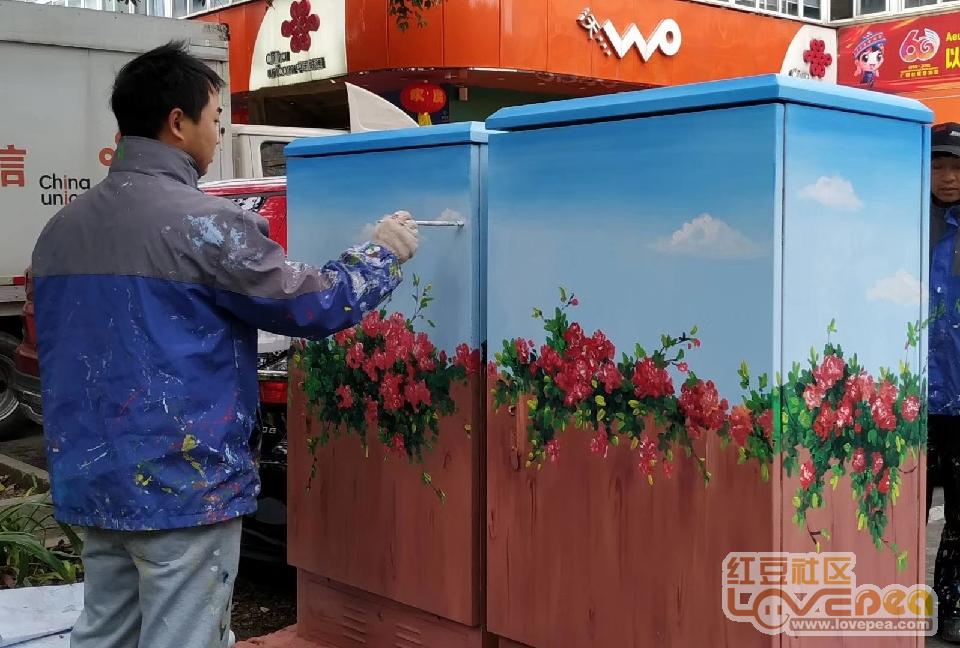 冷冬柳州,城市美容师的笔下繁华盛开