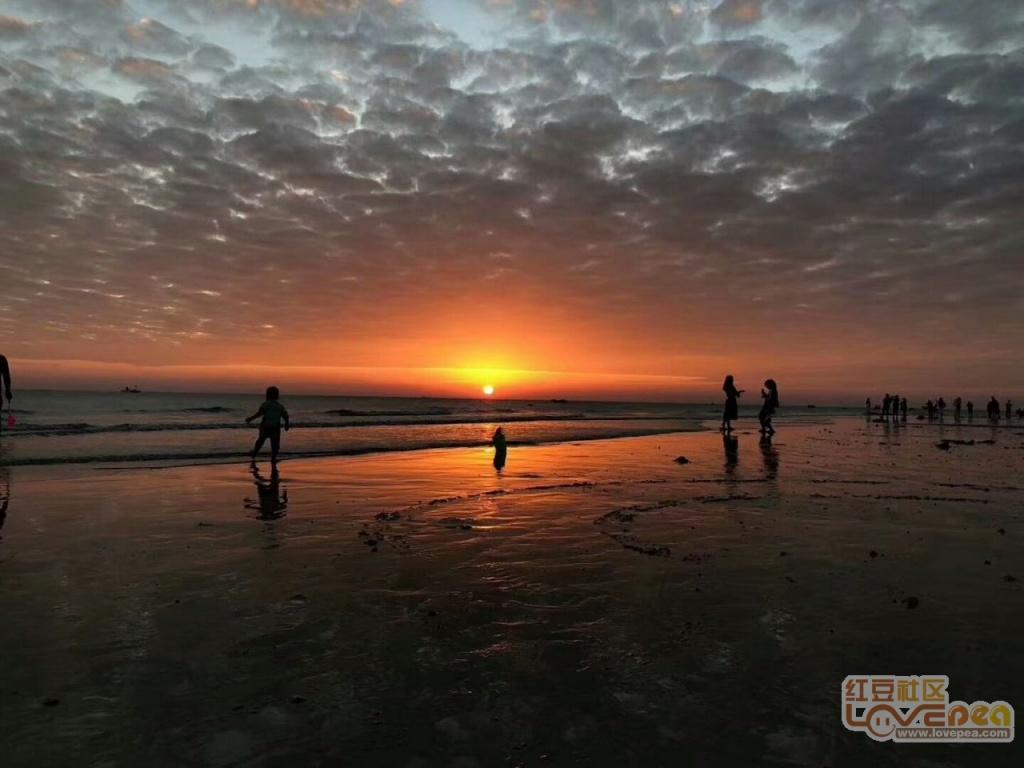 涠洲岛的朝阳