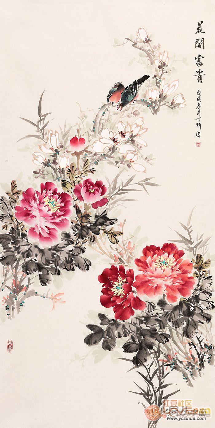 花开富贵 带您领略国画牡丹的非凡魅力