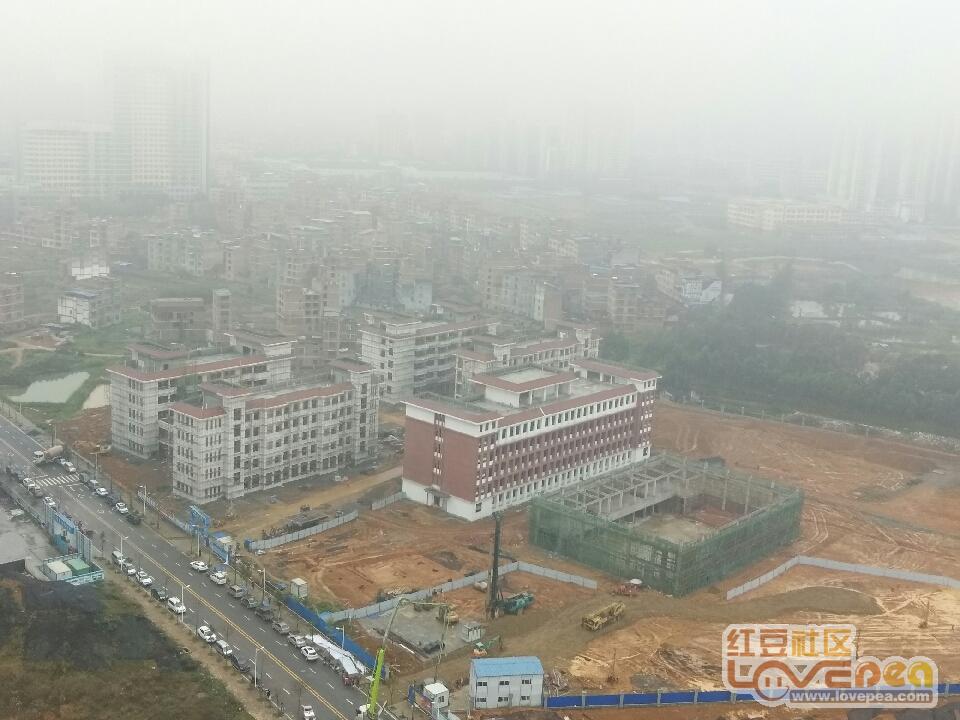 六中市第九初级中学建设最新进展。-红豆社区初中好武汉来宾班图片