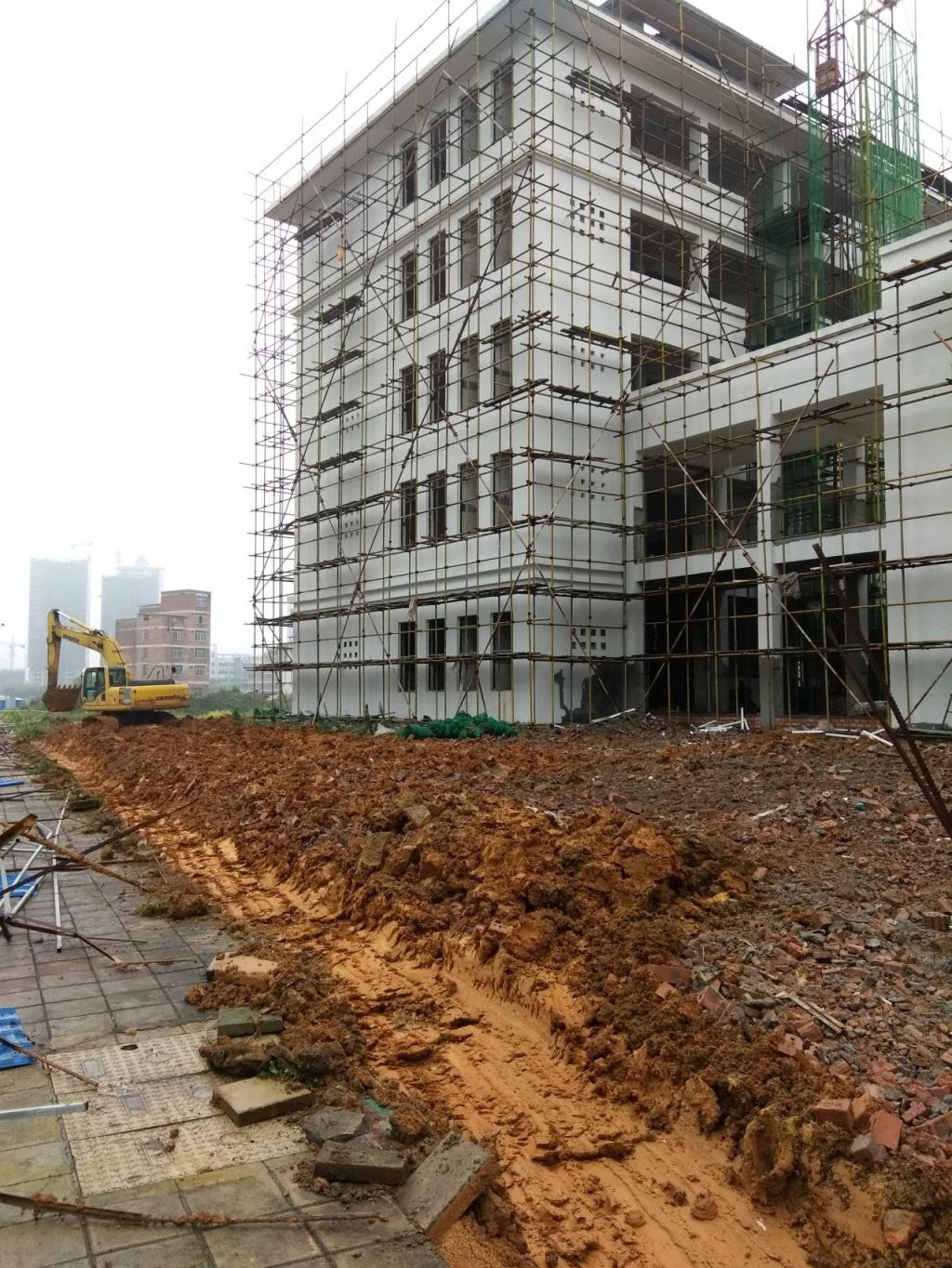 来宾市第九初级中学建设最新进展。-红豆社区孩子生活怎样适应初中帮着图片