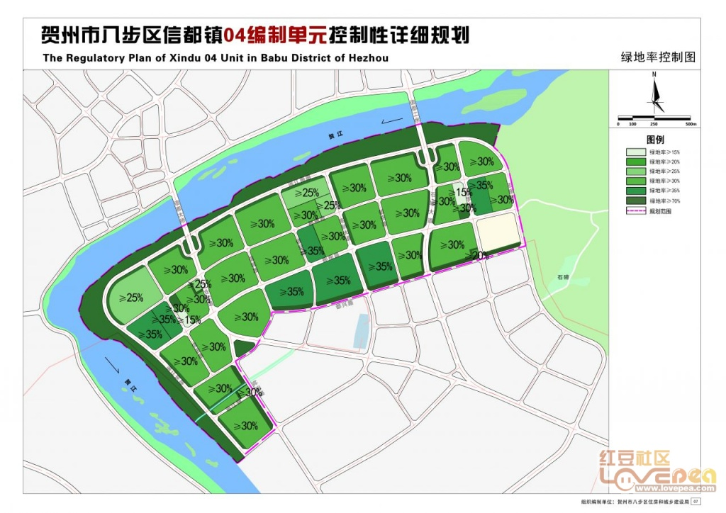 贺州永丰湖公园规划图