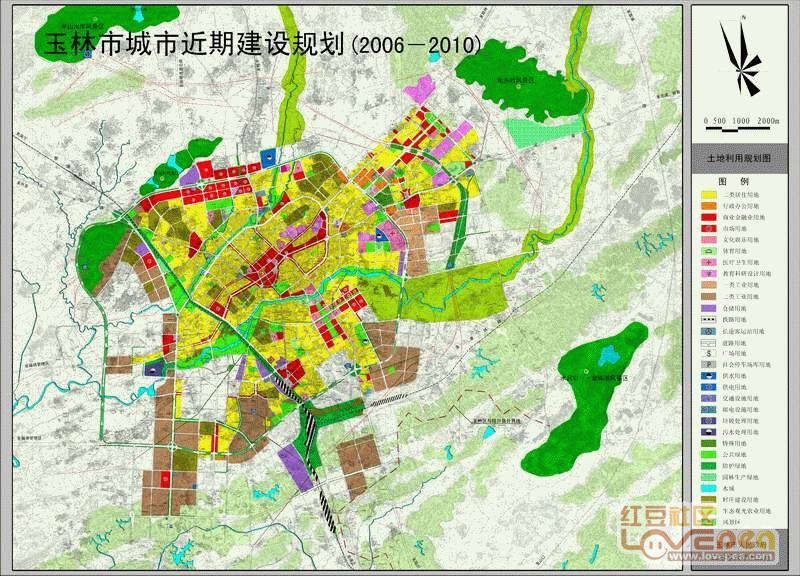 陆川规划图