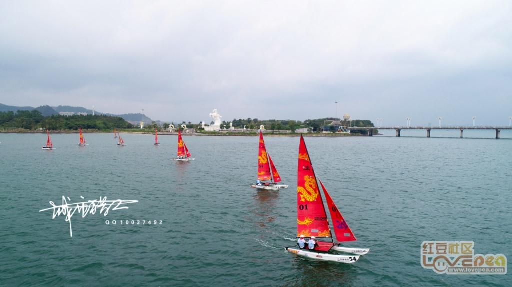 2019防城港帆船比赛,吸引世界的目光