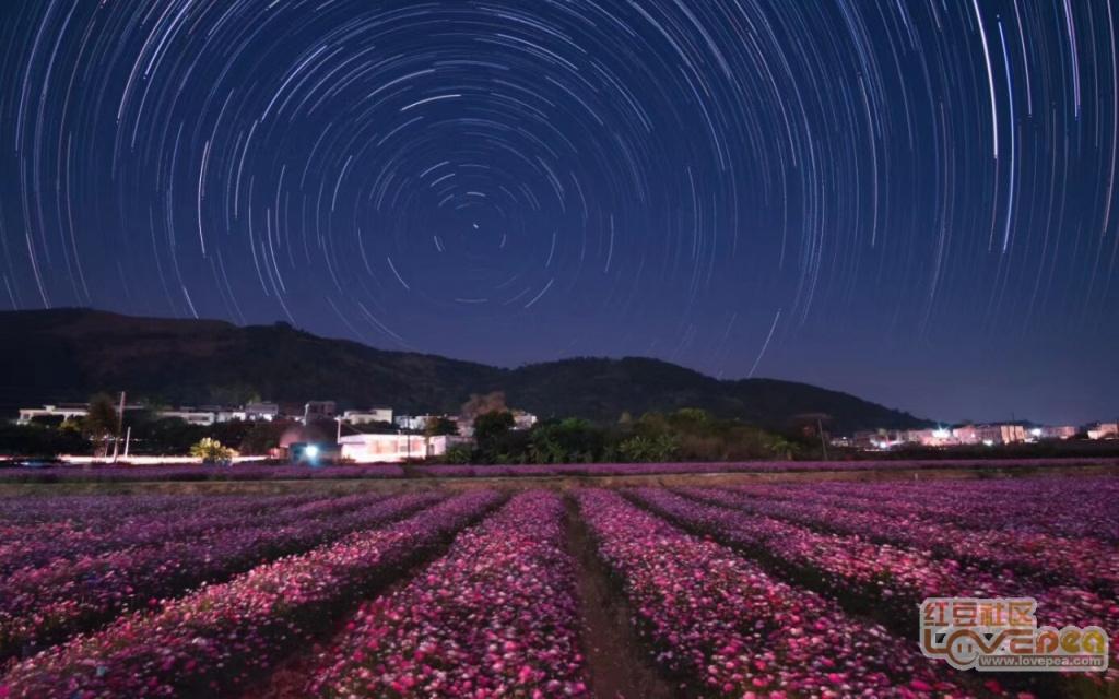 佛子镇元眼村的星空花园