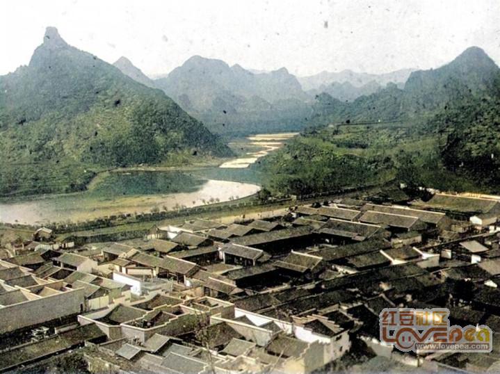 1898年桂林上色老照片!震撼!