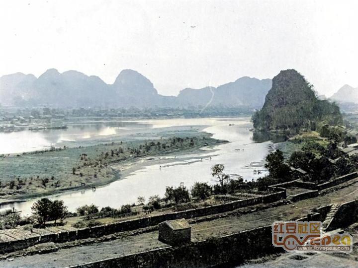 1898年桂林上色老照片
