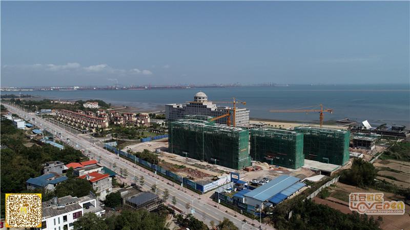 先睹为快:江山半岛复工后项目建设现状