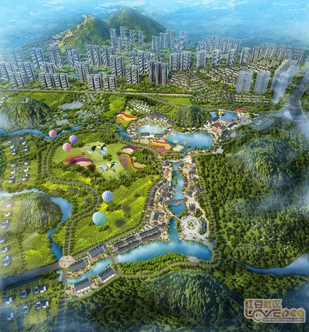 江宇梦想小镇风景