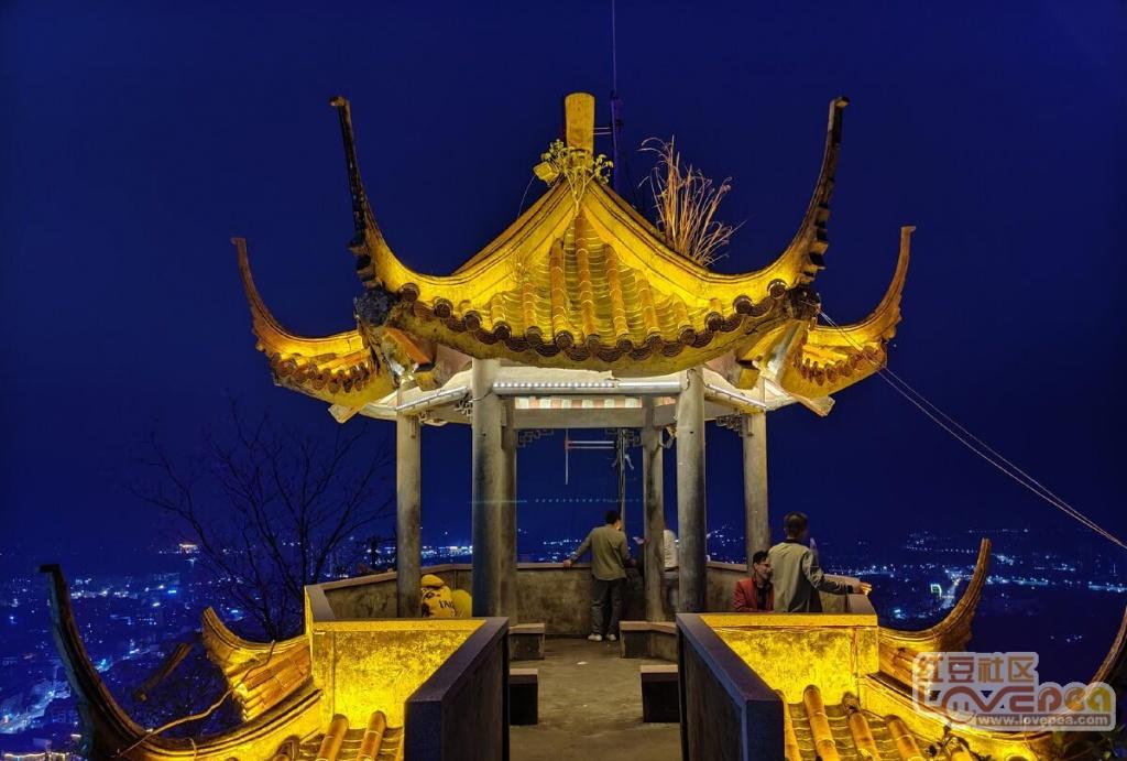 灵山:美丽灵山夜景