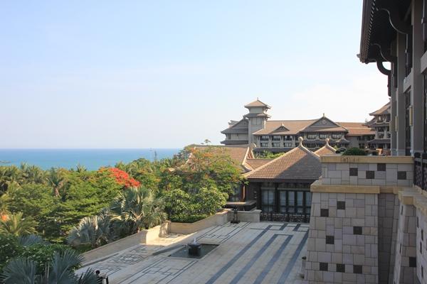 中国西海岸的度假村