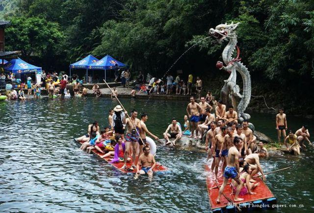 清凉十八水,避暑狂欢节