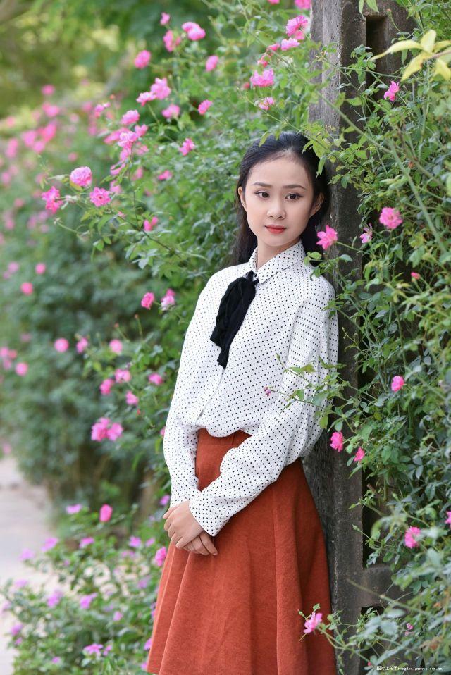 韵致淡雅 越南女生