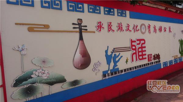 来宾市校园初级中学民族推进全力文化建设[关2015初中划片昆明图片