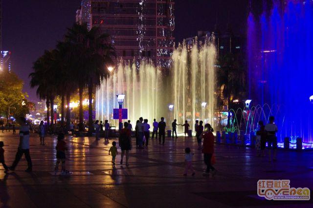 柳州的喷泉