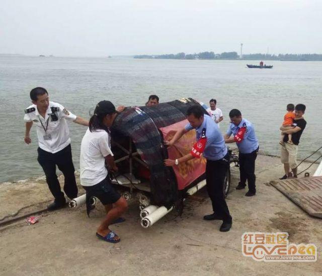 想乘竹筏漂流到北京 航拍防城港的碧海蓝天