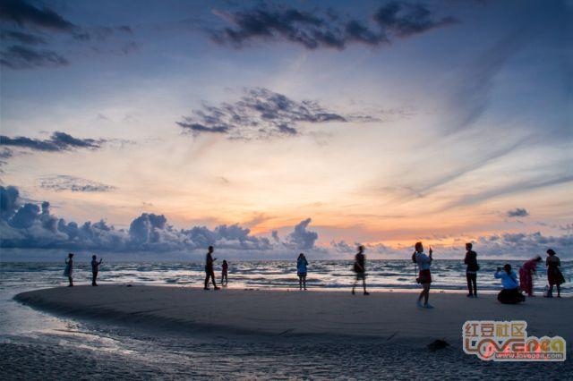 在涠洲岛看日出