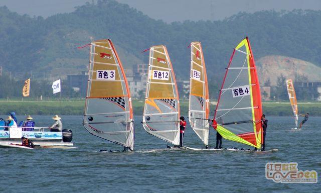 海上帆船全区赛