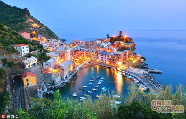 意大利美丽小渔村