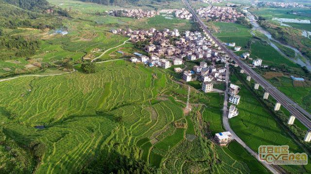 烈日下的村庄