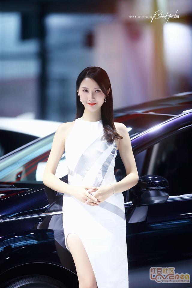 2018东盟柳州车展模特